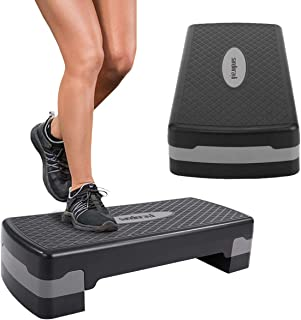 Sandinrayli 27'' Aerobic Exercise Stepper Platform Height...