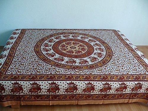 Marrakech Accessoires Orientalische Tagesdecke Bettüberwurf Sofaüberwurf Überwurf Plaid Indien - 905579-0003