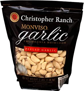 Christopher Ranch Monviso Peeled Garlic, 3 Lbs