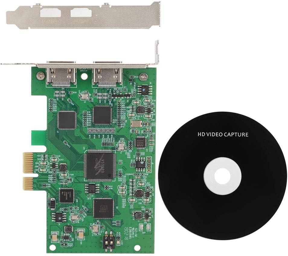 Viccilley Capture Card - HD HDMI Soldering PCI-E Video V Popular brand Live