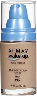 Almay Wake-Up Liquid Makeup, Beige-050, 1.0 Fluid Ounce