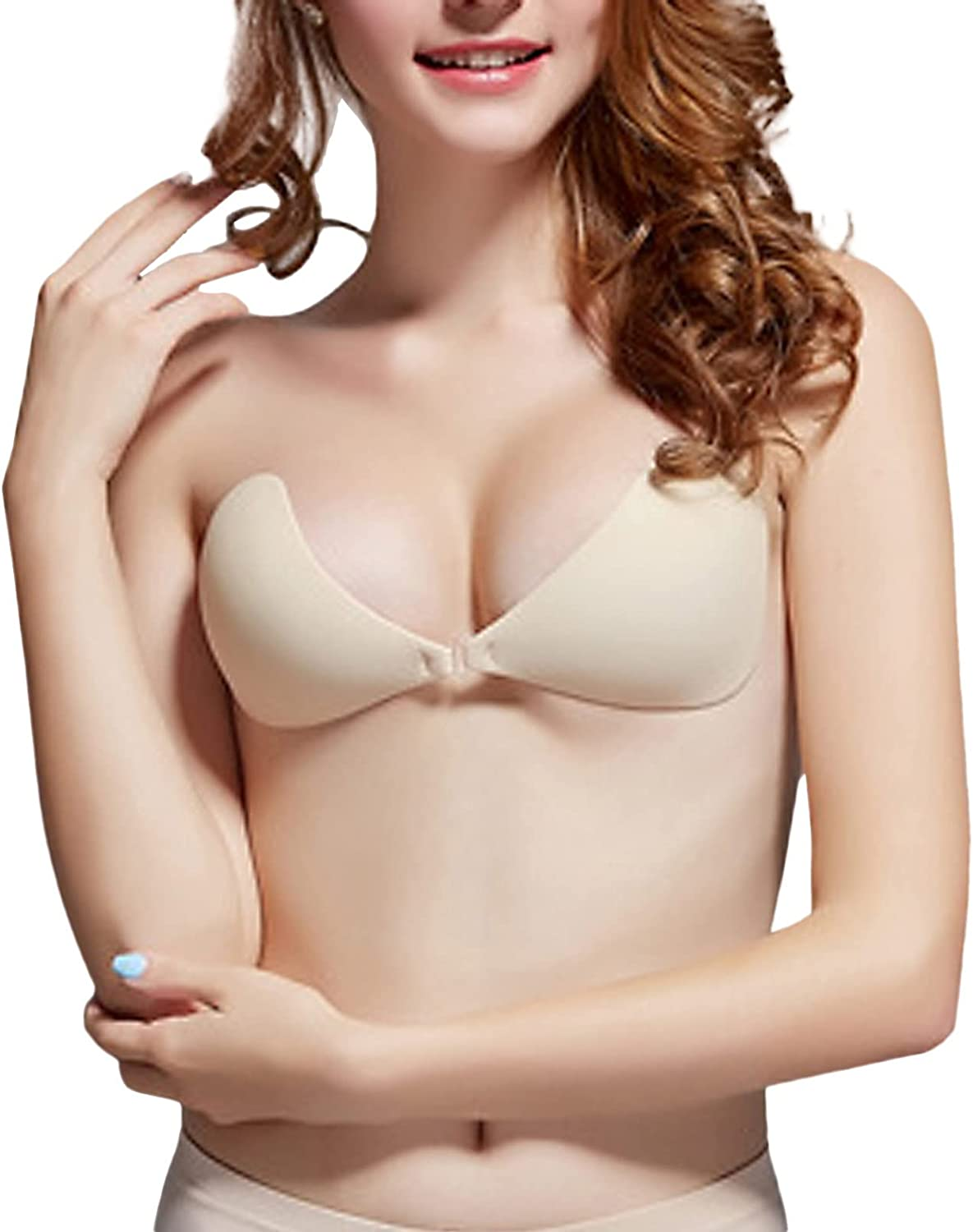 Popular standard JUSTMYTOP Adhesive All items in the store Bra Reusable Strapless Silicone Push-up Self