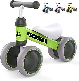 comprar comparacion Sawyer - Correpasillos / Bicicleta Sin Pedales - Niños 10 a 24 Meses / Bebes 1 Año (Verde)