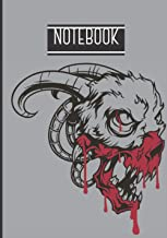Notebook: Scary Notebook - Halloween Gift For Adults - Halloween Notebook - scary gits to offer - Lined Halloween Notebook...