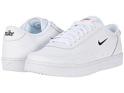 Nike Court Vintage (White/Black/Total Orange) Women