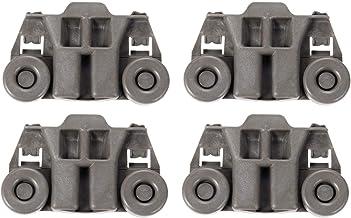 W10195417 Dishwasher Wheels Replacement Fits Whirlpool KitchenAid Kenmore Jenn-Air Replace# AP4538395, 1872128, AH2579553, EA2579553, PS2579553. WPW10195417, LP16057 Dishwasher Rack Roller