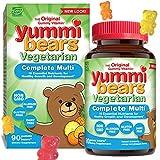 Yummi Bears Vegetarian Multivitamin and Mineral Supplement, Gummy Vitamins for Kids, 90 Gummies