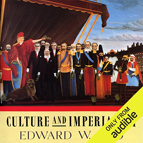 Culture and Imperialism audiobook cover art
