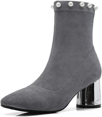 1TO9 MNH03591, Sandales Compensées Femme - gris gris - gris, 36.5 EU  sortie en vente