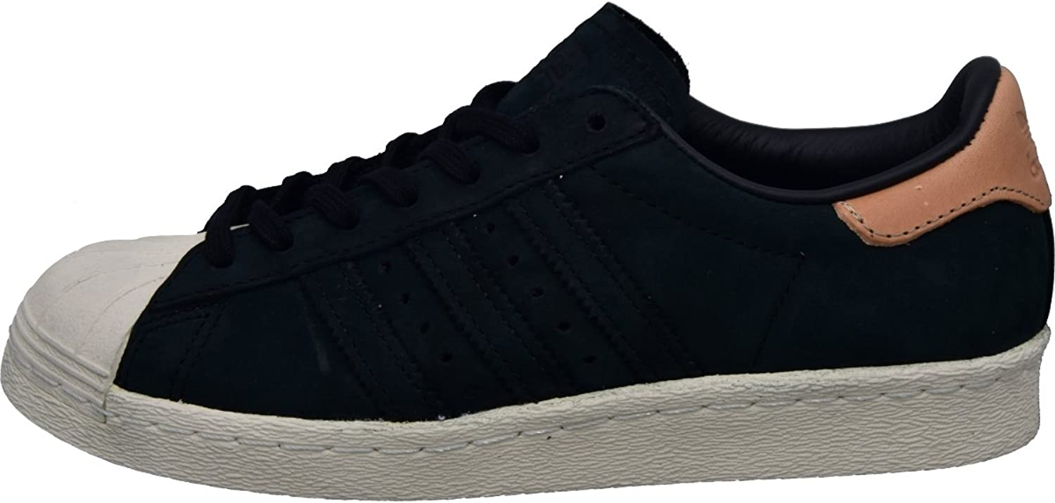 Adidas Womens Superstar 80s Nubuck Leather Trainers
