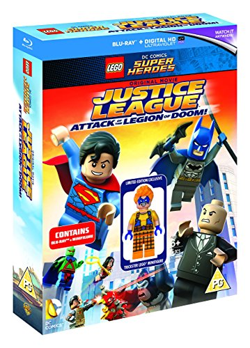 LEGO: Justice League - Attack of the Legion of Doom (includes Trickster LEGO Minifigure) [Blu-ray] [2015] [Region Free]