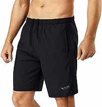 Sportbroek voor heren, korte broek, loopbroek, korte broek, trainingsbroek voor heren, sportjoggingbroek, voetbalbroek, jo...