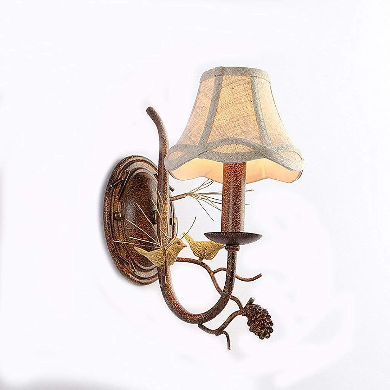American Bird Lamp ridor der Spiegel vorne Titel retro starten die Schlafzimmer kreative Nacht Tischleuchte (Format  Single Head)