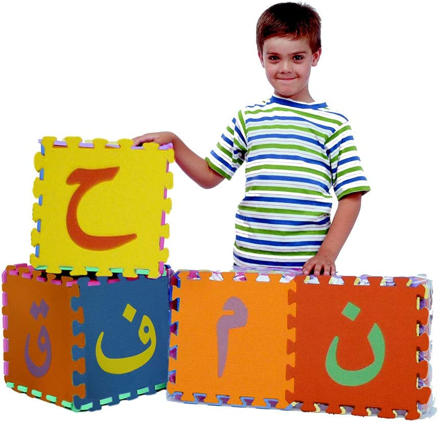 Arabic Los Angeles Mall Alphabet Puzzle Cheap SALE Start Mats Size by Large Noorart