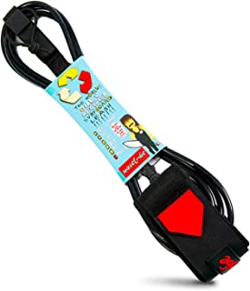 surf leash which foot