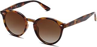 Classic Retro Round Polarized Sunglasses UV400 Mirrored Lens SJ2069 ALL ME
