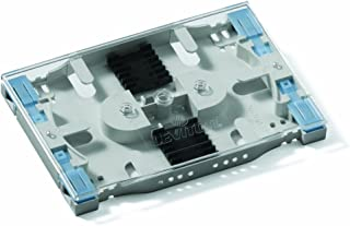 Leviton T5PLS-12F Injection Molded Mini Splice Tray, Heat Shrink Style (accepts standard sleeves), up to 12 Fiber Splicing