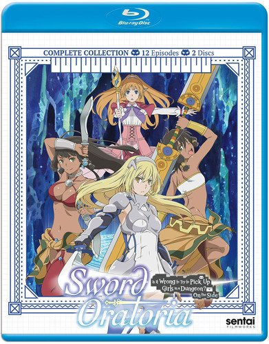 Sword Oratoria Is It Wrong To Try To Pick Up Girls In A Dungeon? On The Side Blu-Ray(ソード・オラトリア ダンジョンに出会いを求めるのは間違っているだろうか外伝 全12話)