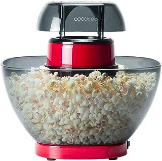 Cecotec Machine à Pop-Corn Fun&Taste P'Corn Easy. Machine à Pop-Corn sans Huile Qui Fonctionne grâce à l'air Chaud. 1200 ...