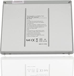 A1175 Replacement Laptop Battery for MacBook Pro 15-inch Battery A1175 A1211 A1226 A1260 A1150 Battery