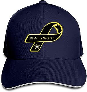 US Army Veteran Adjustable Baseball Cap Casquette Hat Sun Hat