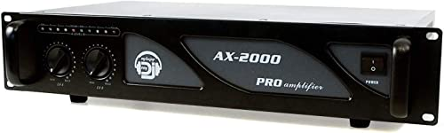Amplificateur sono 2 x 1000W - AX-2000 MY DEEJAY