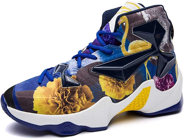 9b95e0d8aaf82 Beautiful - Fashion Men's Colourful Shock Absorption Sneaker High ...