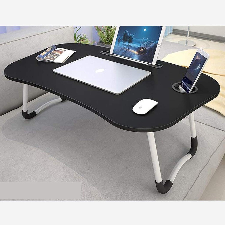 QYSZYG Small Fiber Sheet Folding Table - Lightweight Bed Folding Table - Student Desk - 60 × 40 × 25cm Folding Table (color   D)