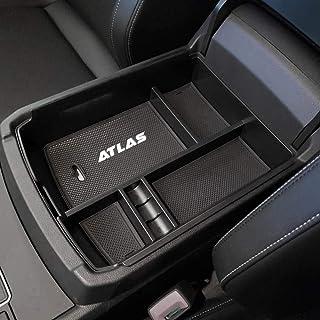 EDBETOS Center Console Organizer Tray for VW Volkswagen Atlas Accessories 2018 2019 2020 Secondary Armrest Storage Glove B...