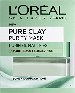 Dermo Expertise Pure Clay Purity Mask, Green 50 ml by Dermo Expertise