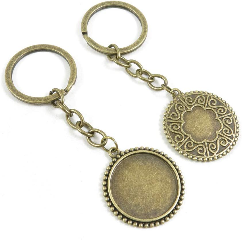 50 Items Keychain List price Keyring Key Tags New product type Jewelry Bag Char Rings Chains