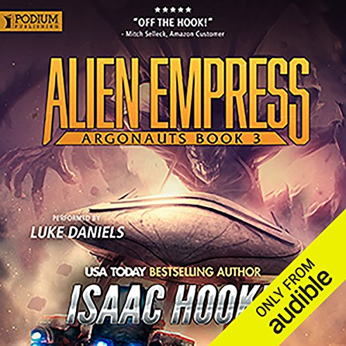 Alien Empress audiobook cover art