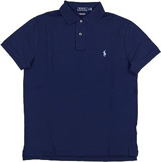 Mens Custom Slim Fit Stretch Mesh Polo Shirt
