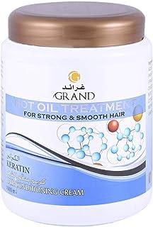 Grand Hot Oil Treatment Keratin Hair Conditioning Cream, 1000ml