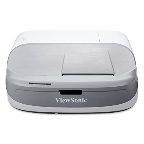 ViewSonic PX800HD 1080p Projector Ultra Short Throw with RGBRGB Rec 709 100,000:1 Contrast and Low Input Latency for Home Theater and Gaming