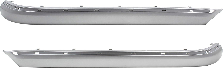 Evan-Fischer Rear Bumper Molding Compatible Merce with SALENEW very popular! 2015-2018 Max 57% OFF