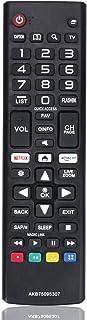 New Remote Control AKB75095307 Replacement fit for LG LED LCD TV 43UJ6500 43UJ6560 49UJ6500 49UJ6560 55UJ6520 55UJ6540 55U...