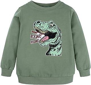 K-Youth Sudadera Niño 1-8 años Caricatura Dinosaurio Chandal Bebe Niño Invierno Ropa Bebe Niño Abrigo Bebe Recien Nacido N...