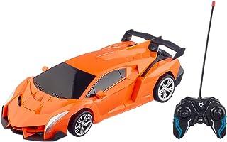 لعبة سيارة متحولة بريموت كنترول من اكس اف 23-1A - برتقالي
