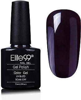 Elite99 7.3ml Soak off UV Nail Gel Polish Long-Lasting Nail Varnish Gel polish Professional Colourful Nail Art (09956)