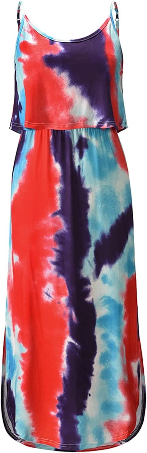 Free shipping anywhere in the nation XIANGE100-SHOP Summer Layered Rare Boho Dress Women for Girls Teen S