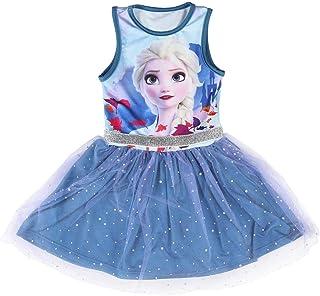 Cerdá - Vestido de Frozen 2 Niña Fanstasy Ballet - Haz que se Sienta Como la Princesa Elsa