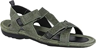 Woodland Men's SGREEN Leather Sandal-8 UK/India (42 EU) -(GD 0048105WSL)