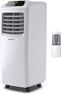 Pro Breeze Aire Acondicionado 4 en 1-9000 BTU. con Control Remoto, Temporizador de 24 Horas y Kit de ventilación de Ventana incluidos. con eficiencia energética Clase A