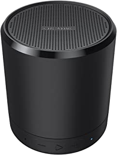 Creative Metallix Portable Mini Speaker with Bluetooth 4.2 Wireless, 24-Hour Playtime, 4-Way Music Playback, Enhanced Bass, Stereo Pairing and Built-in Speakerphone (Black)