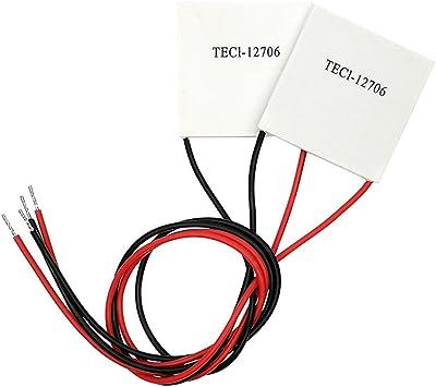 12V 60W Thermoelectric Cooler TEC Peltier Plate Module TEC1-12706 US