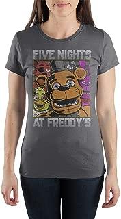 Five Nights at Freddys Fazbears Pizza Shirt Juniors Graphic Tee