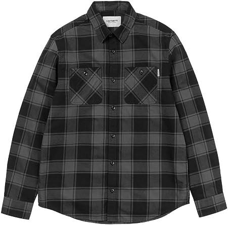 Carhartt Camisa WIP L/S Josh Camiseta hombre mujer cuadros ...