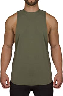 Ouber Men's Muscle Fit Gym Bodybuilding Workout Tank Top