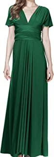 Womens Transformer Evening Dress Maxi Cocktail Wrap Convertible Multi Way Floor Long Formal Gown
